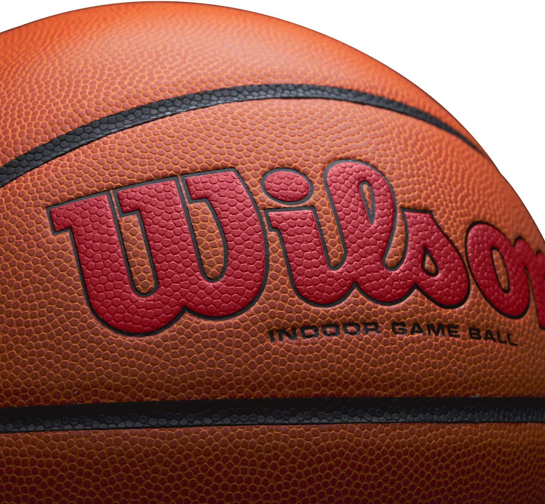 Cuero Compuesto Escuela Secundaria Wilson Bal/ón de Baloncesto Tama/ño Oficial 74.9 Cm Interior Evolution Game Ball