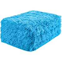 Super Soft Shaggy Faux Fur Blanket Ultra Plush Decorative Throw Blanket for Bedding Chair Fall Winter Spring Living Room-Super Soft & Cozy Warm