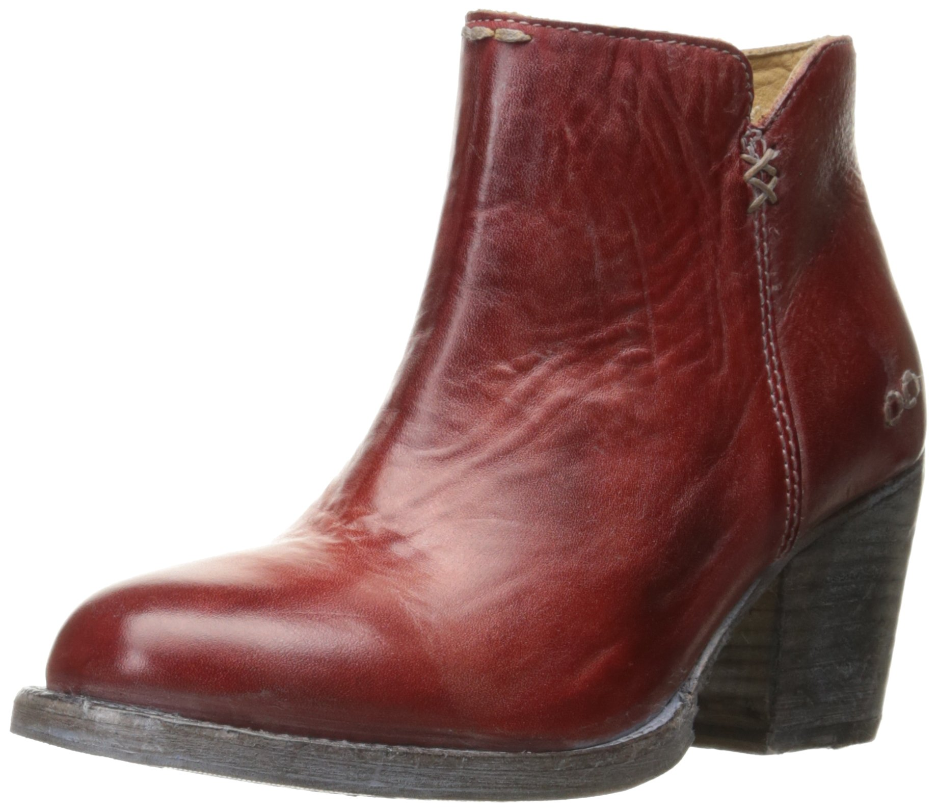 Bed|Stu Women's Yell Boot, Red Rustic/Blue, 8.5 M US