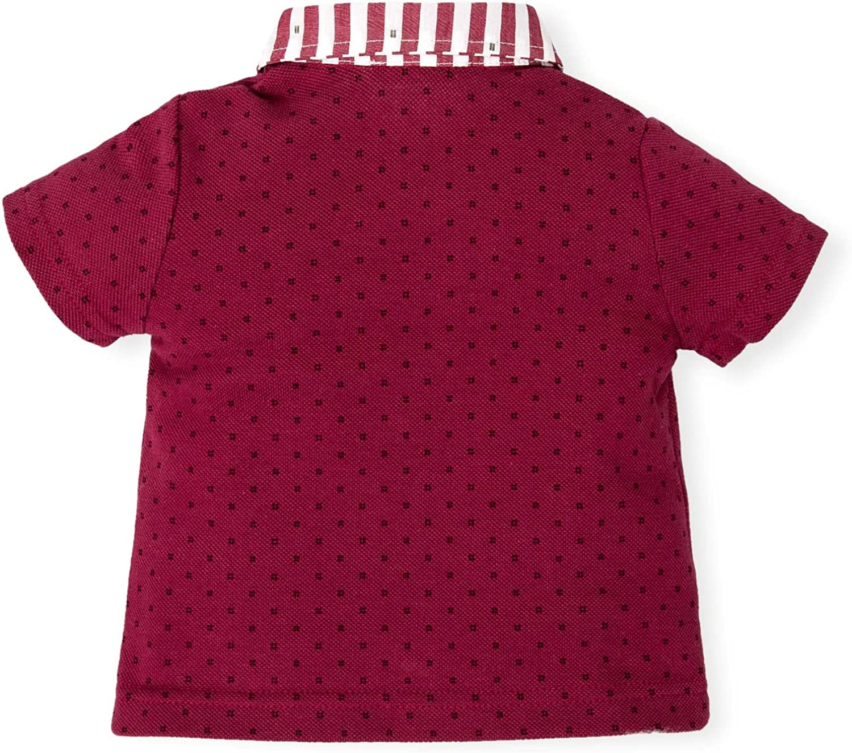 Tutto Piccolo 4811S18 Polo, Rojo (Garnet R08), 4 años (Tamaño del ...