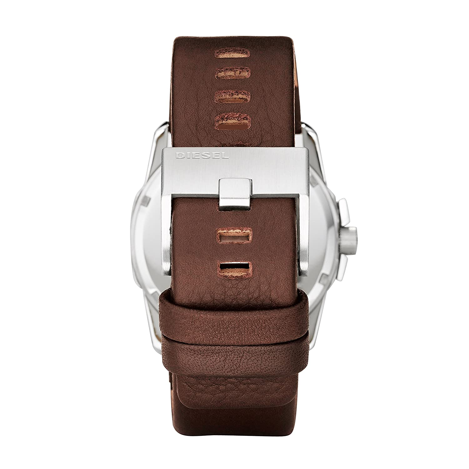 7cfa9b4f7d57 Buy Diesel Mega Chief Analog Grey Dial Men s Watch - DZ1206 Online at Low  Prices in India - Amazon.in