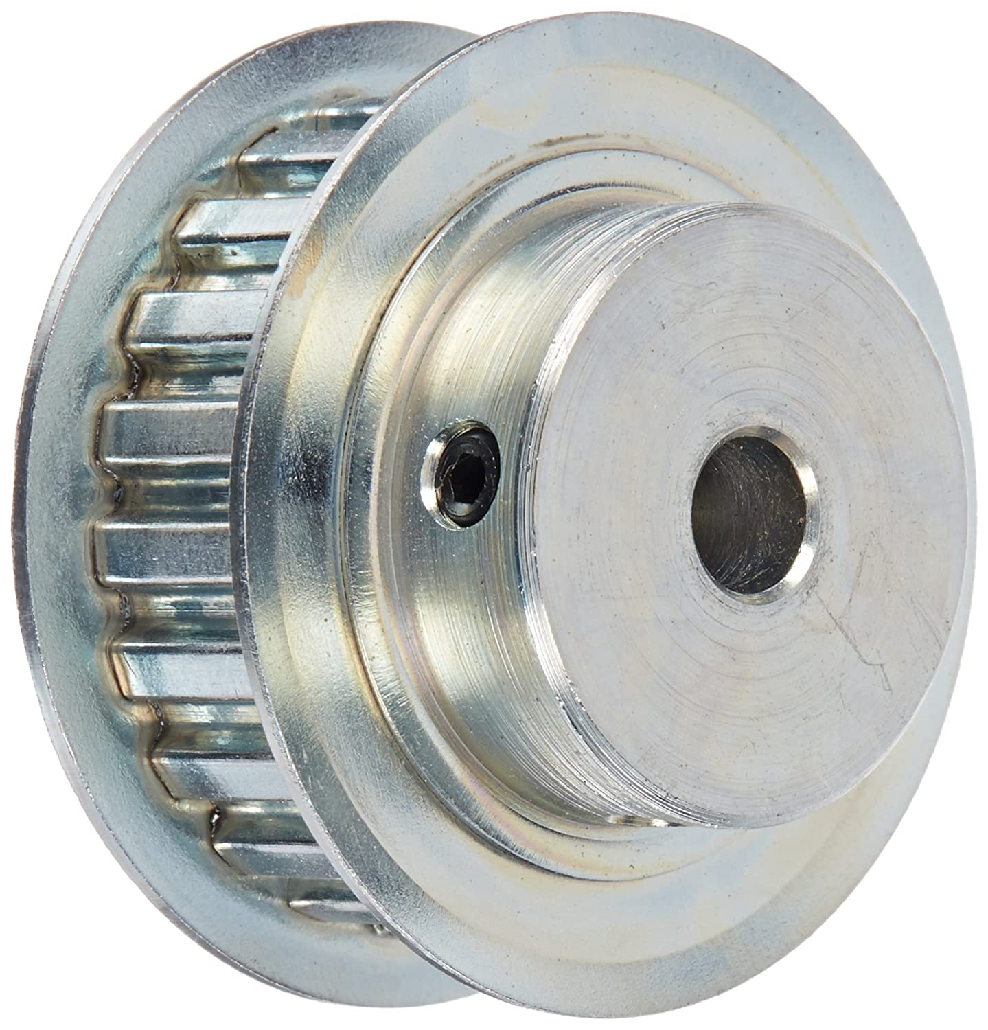 Gates PB16XL037 PowerGrip Steel Timing Pulley 1.019 Pitch Diameter 1//5 Pitch 1//4 to 3//8 Bore Range 16 Groove for 1//4 and 3//8 Width Belt