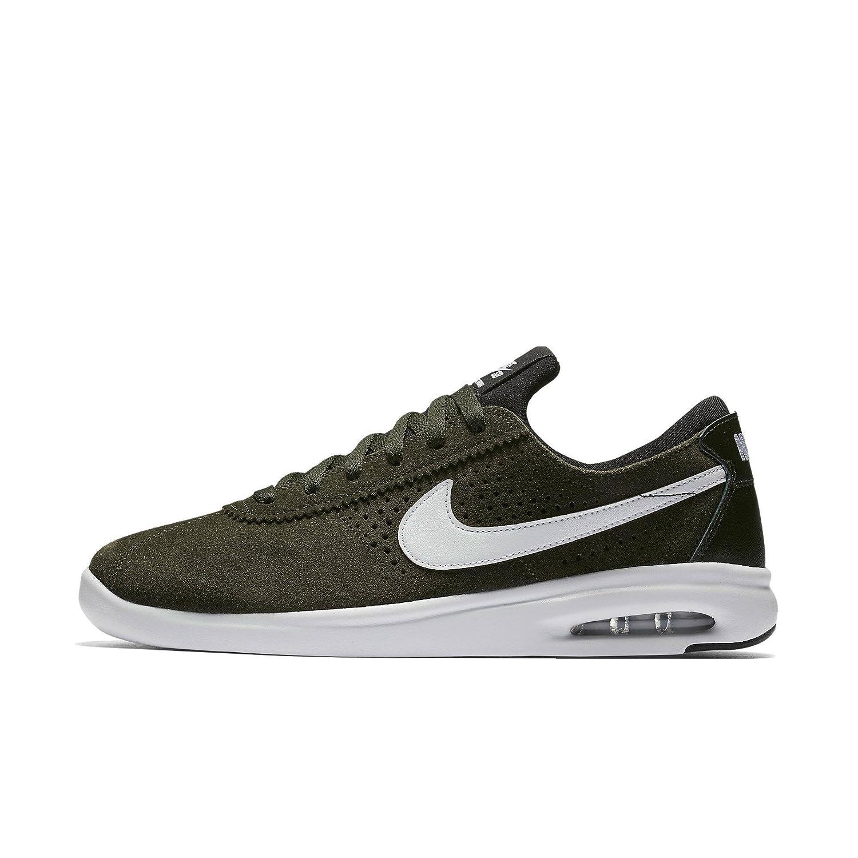 Nike SB AIR MAX Bruin Vapor Mens Fashion Sneakers 882097 312_7.5 SequoiaWhite Golden Beige Black