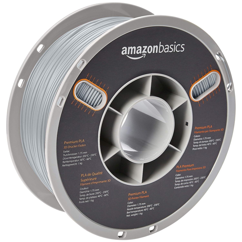 Amazon.com: AmazonBasics Premium PLA 3D Printer Filament ...