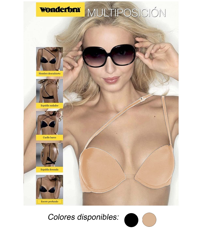 Wonderbra Multiposicion, Sujetador para Mujer: Amazon.es: Ropa y accesorios