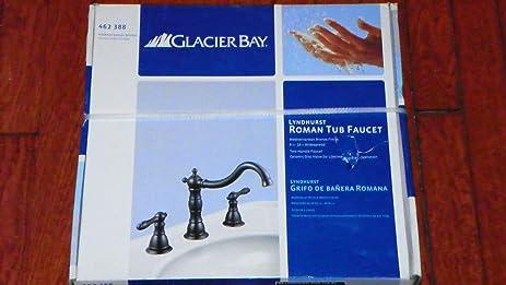 glacier bay roman tub faucet. Glacier Bay Lyndhurst 2 handle Deck mount Roman Tub Faucet in Mediterranean  Bronze