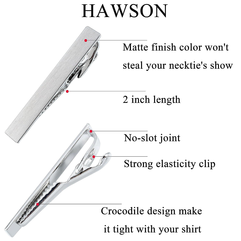 Hawson Pince /à cravate pour homme Accessoires Mariage Business