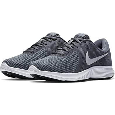 Nike Damen WMNS Revolution 4 EU Sneakers, Grau/Rosa, Einheitsgröße ...