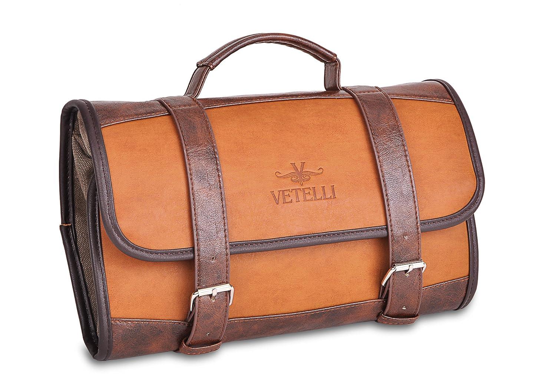 Details about Vetelli Men s Hanging Toilet   Toiletry Bag - Dopp Kit, Wash    Travel. 747c220654