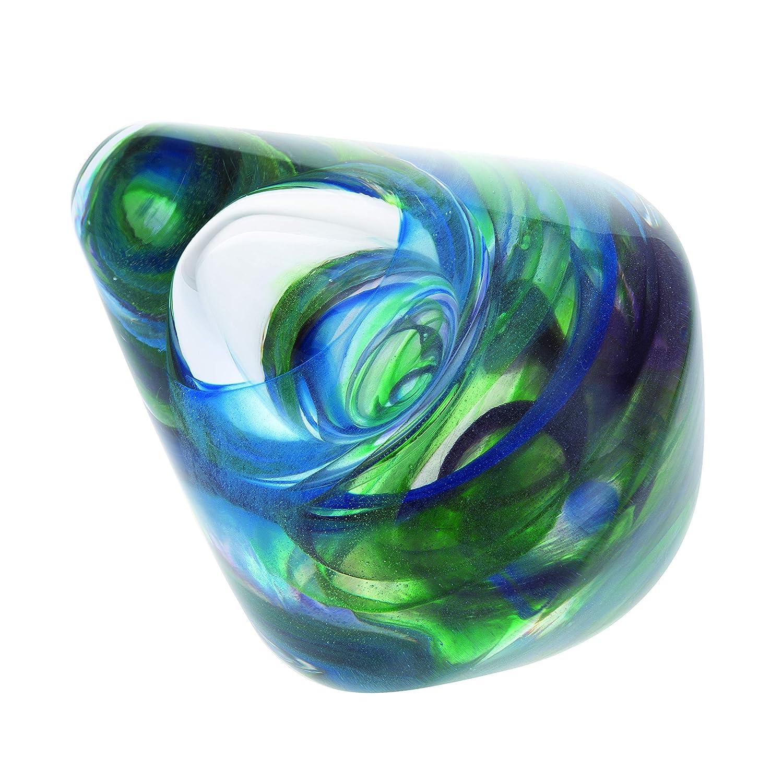 Caithness Glass U19024 Briefbeschwerer, abstrakte Wobbles Grün B07PDMY3M8 | Reichhaltiges Design
