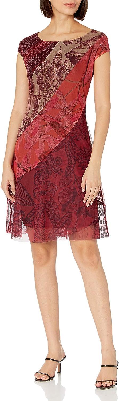 Desigual Vest_Houston Vestido Casual. para Mujer