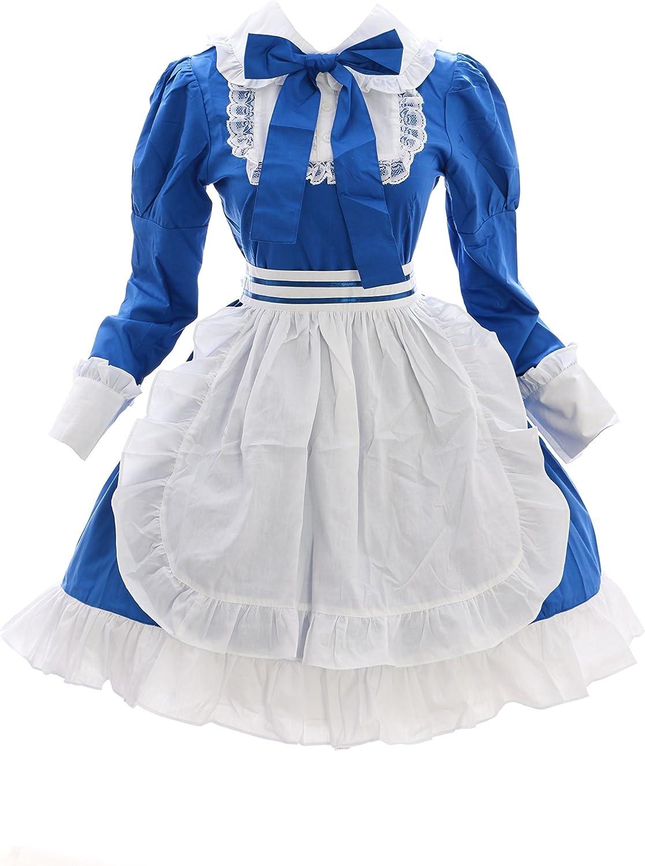 vestido azul de criada