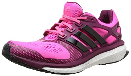 adidas Women\u0027s Energy Boost 2 Esm W running Shoes pink Size: 3.5