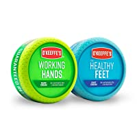 Deals on O'Keeffe's Working Hands 3.4Oz & Healthy Feet 3.2Oz Combination Pack