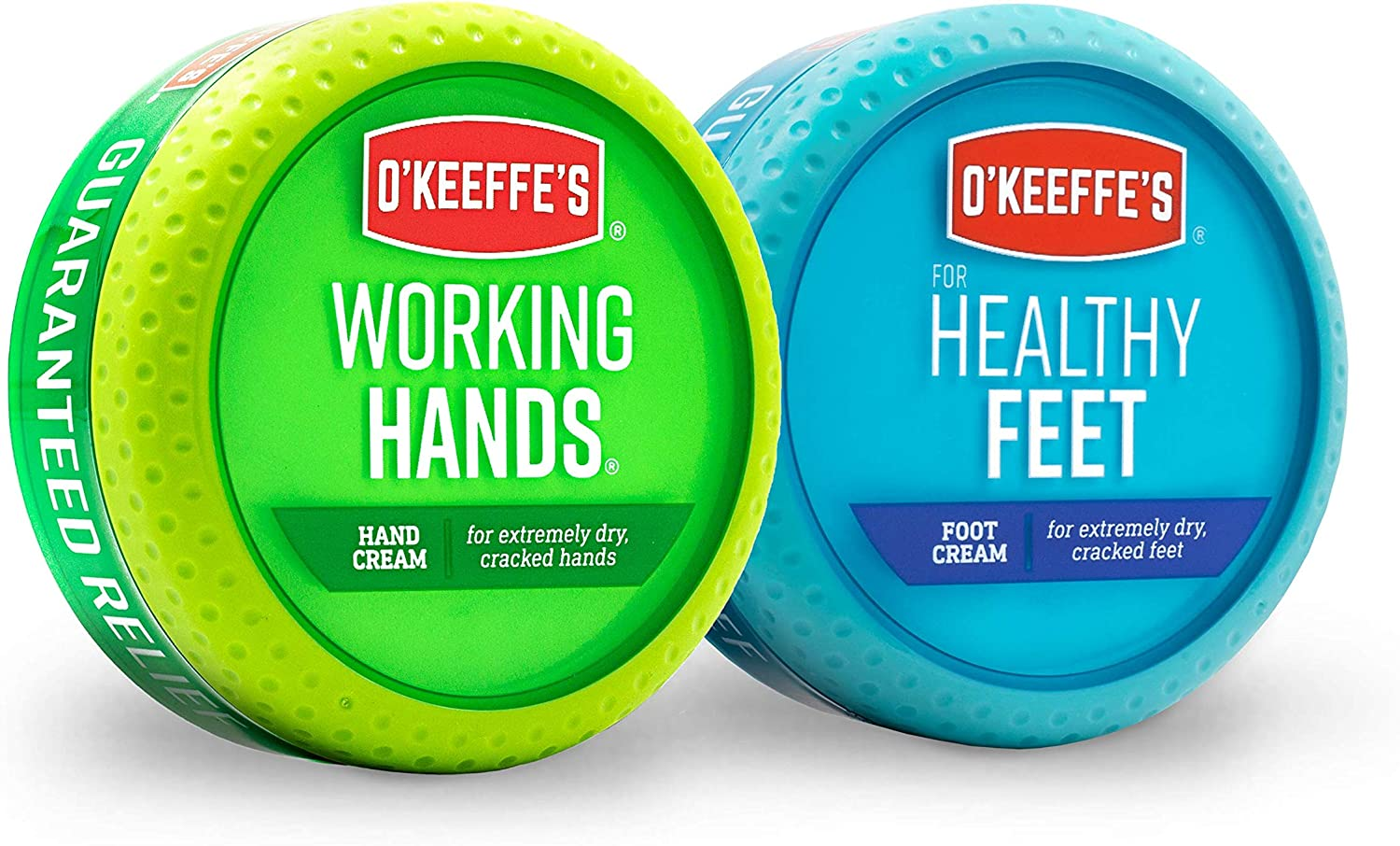 O'Keeffe's Working Hands 3.4 ounce & Healthy Feet 3.2 ounce Combination Pack of Jars: Home Improvement