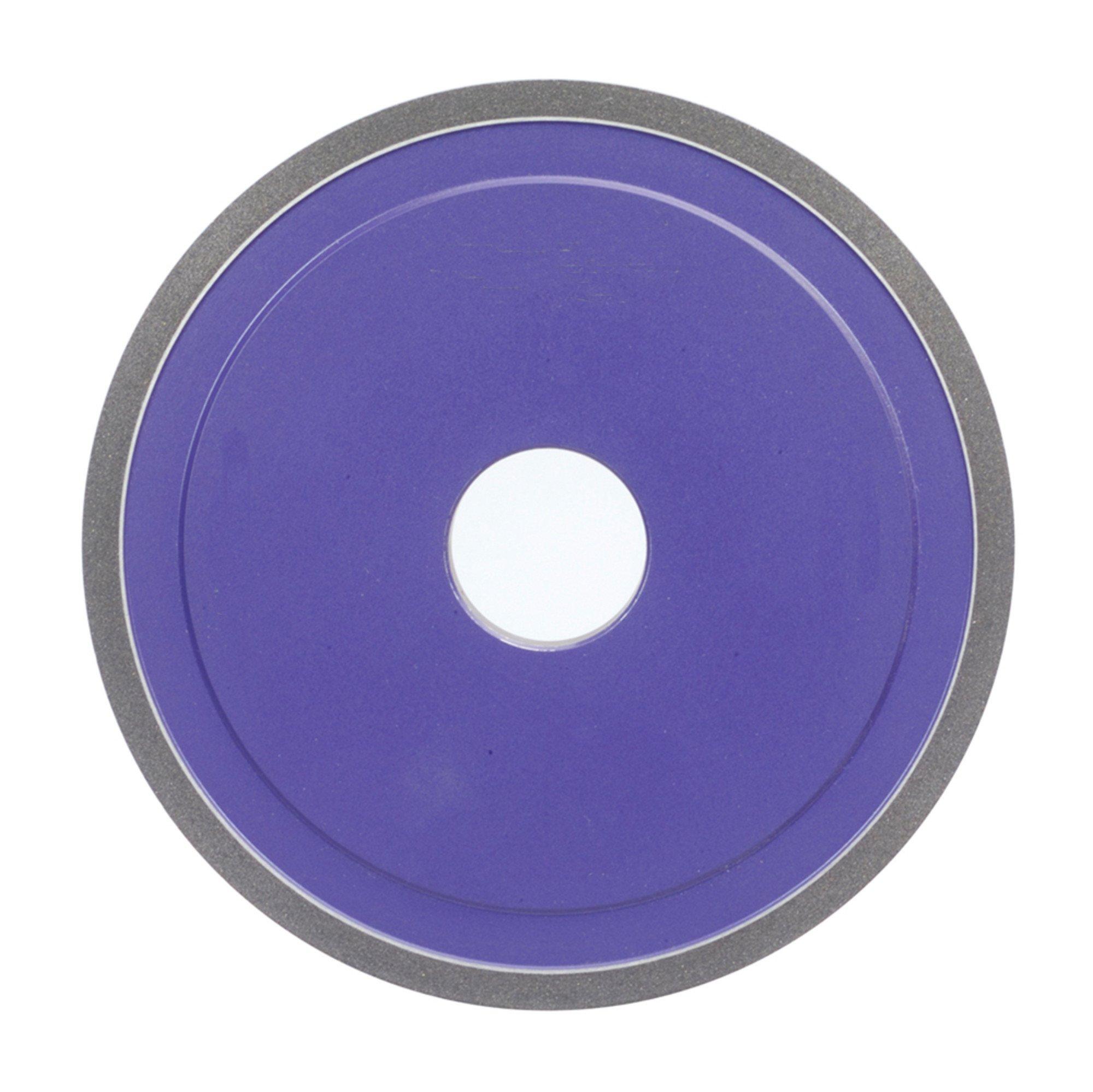 Norton CBN Wheel 7'' Diameter 1/2'' Width 120 Grit Roughing Application D1A1 CBN Wheel