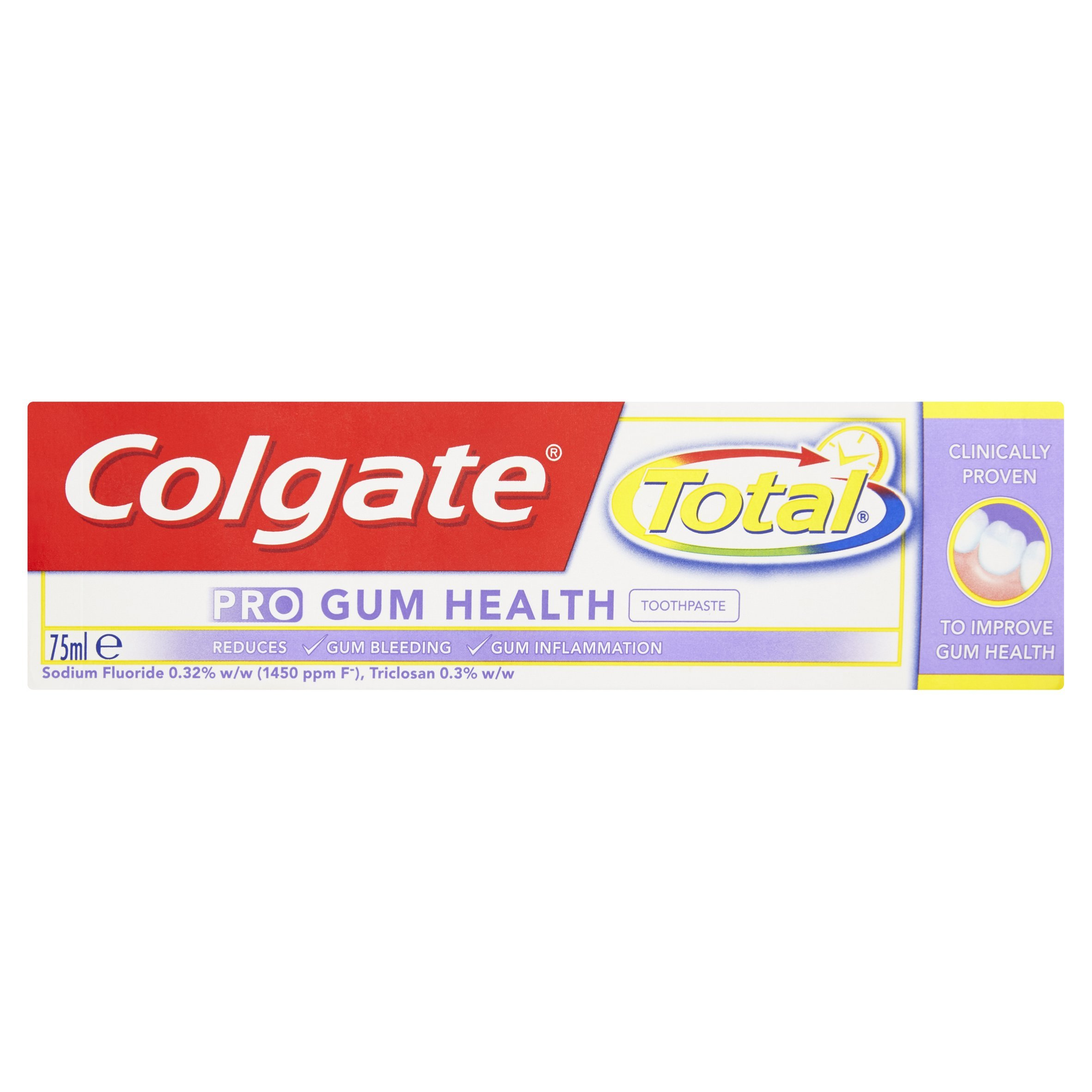 Colgate Total Pro Gum Health Toothpaste, 75ml