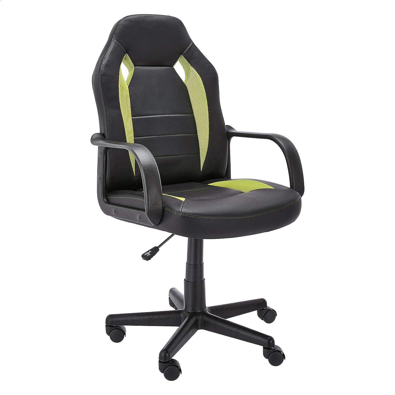 Amazon Basics Racing/Gaming Style Office Chair - Green