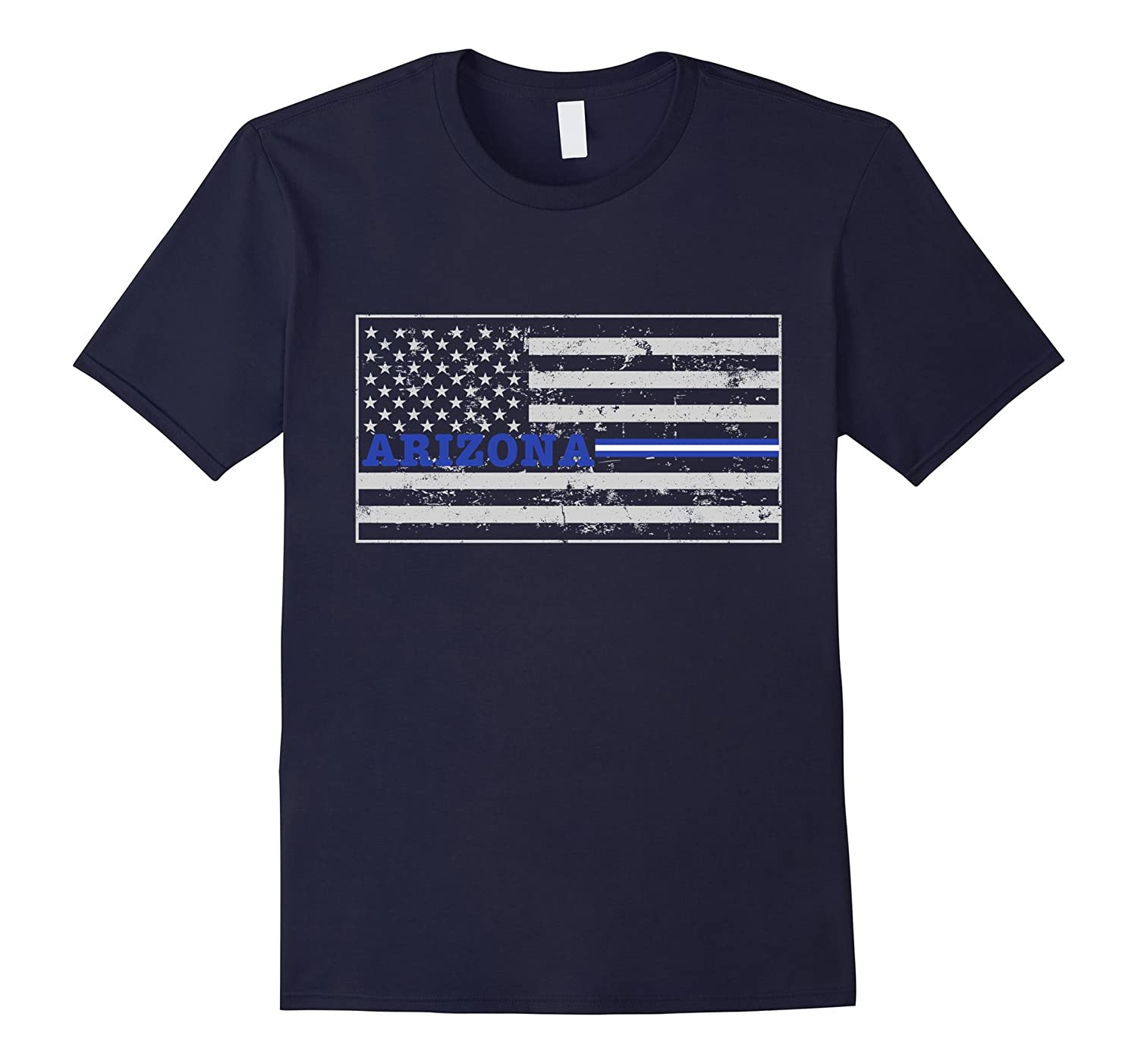 Arizona Paramedic EMT Thin White Line Flag Shirt-TD
