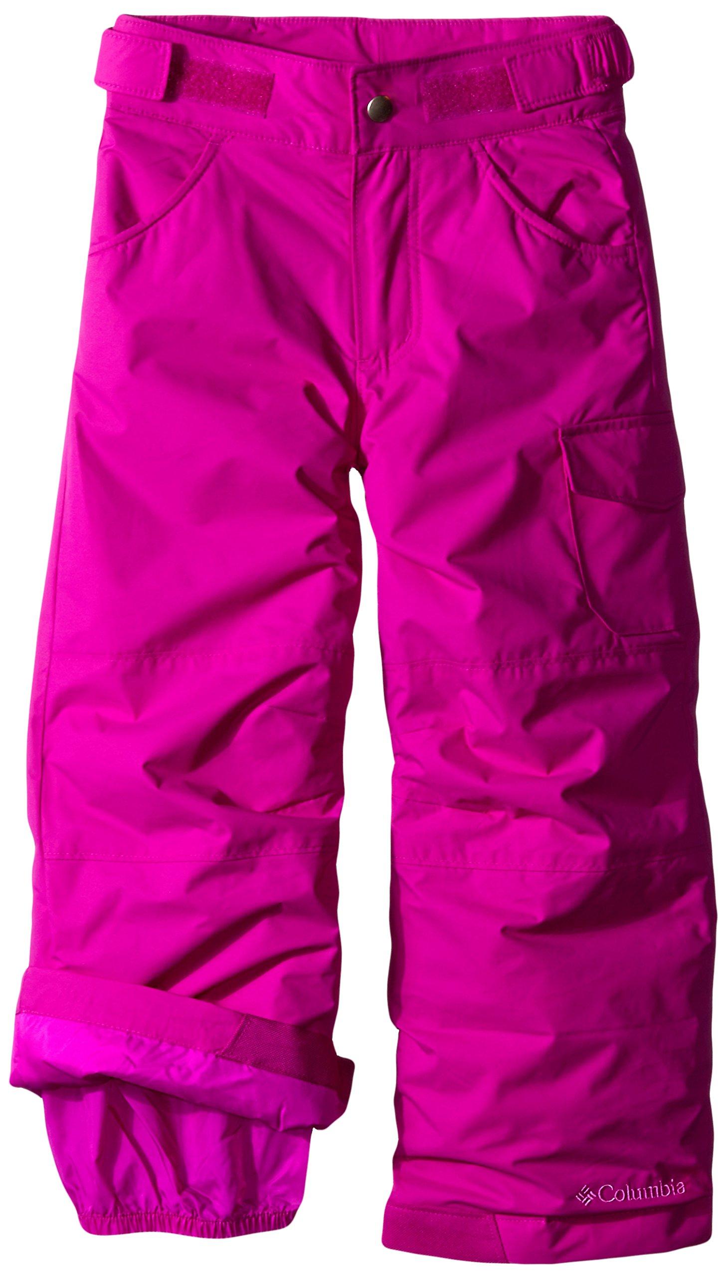 Columbia Little Girls' Starchaser Peak II Pant, Bright Plum, X-Small