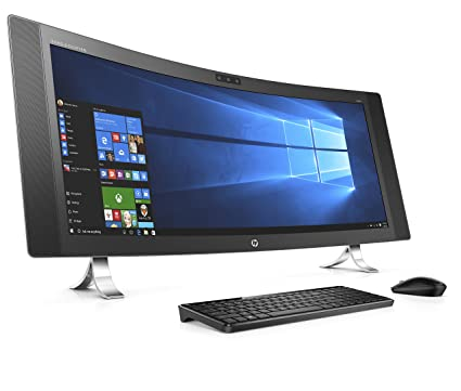 2ef1c1cc676d9 Amazon.com  HP Envy 34-a010 34-Inch All-in-One Desktop (Intel Core ...