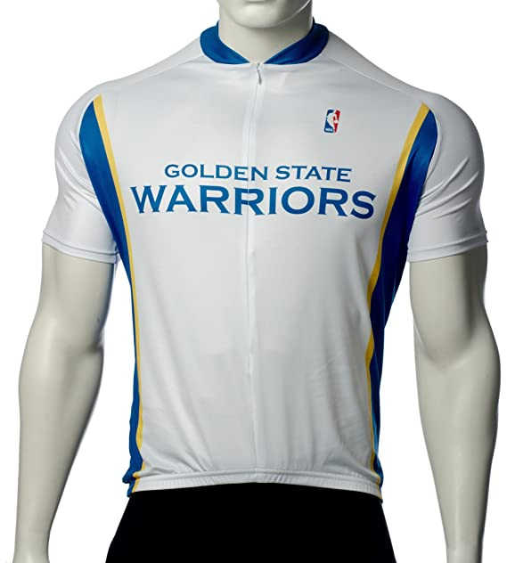 quality design 2f9a3 fe410 Amazon.com : NBA Golden State Warriors Men'S Cycling Jersey ...