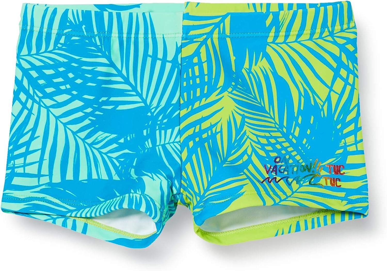 Tuc Tuc Boxer Estampado NI/ÑO Verde Miami Splash