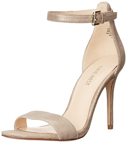 bdc7f12e9 Nine West Women s Mana Metallic Dress Sandal