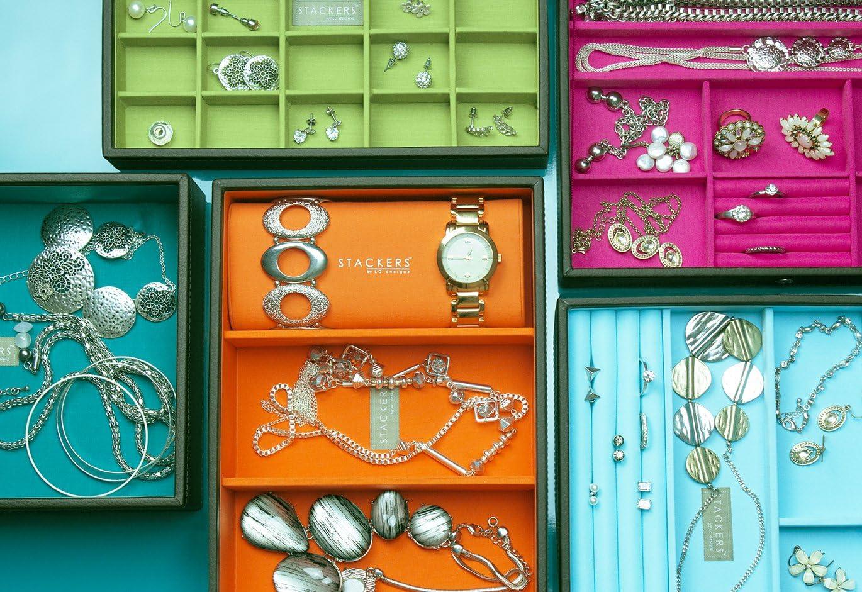 de Stackers Caja de accesorios en formato de viaje