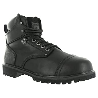 Rugged Blue RB2 1800 Leather Steel Toe Waterproof Men's Work Boot ...