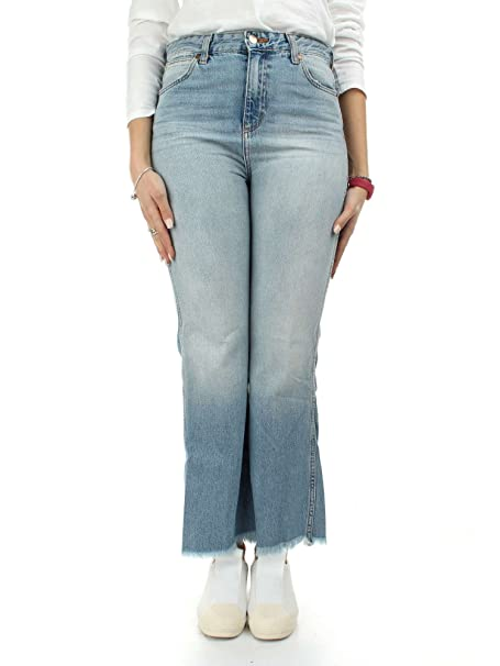 Wrangler W242FH127 Pantalones Vaqueros Mujer Azul 32: Amazon ...