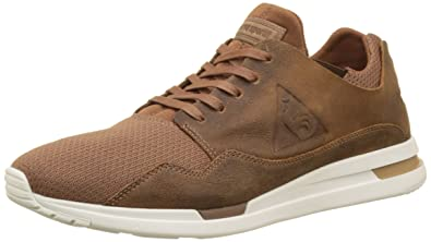 Hommes Lcs R Pure Suede/mesh Bass Trainers, Black Le Coq Sportif