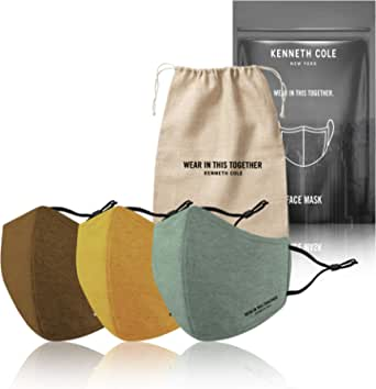 Kenneth Cole Face Mask with Heiq V-block and Smart Temp - The Perfect Mask that Fits Your Active Lifestyle
