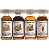 Runamok Maple Organic Vermont Maple Syrup Sampler | Smoke + Barrels Maple Syrup Pairing Collection | 2 oz (4 count) | 60mL |