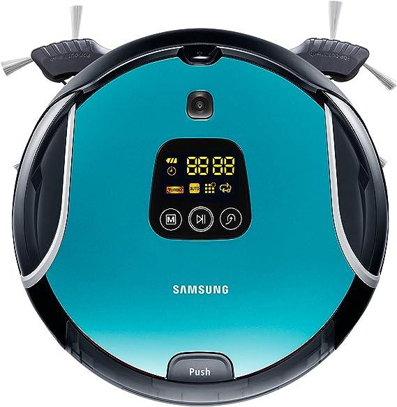 Samsung SR10F71UB - Robot aspirador, 0.7 L, color azul: Amazon.es ...