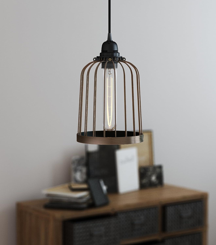 ArtifactDesign Metal Wire Light Cage Guard for DIY Lighting Fixtures ...