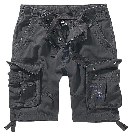 Brandit Pure Vintage Shorts, viele Farben, Größe S bis 7XL