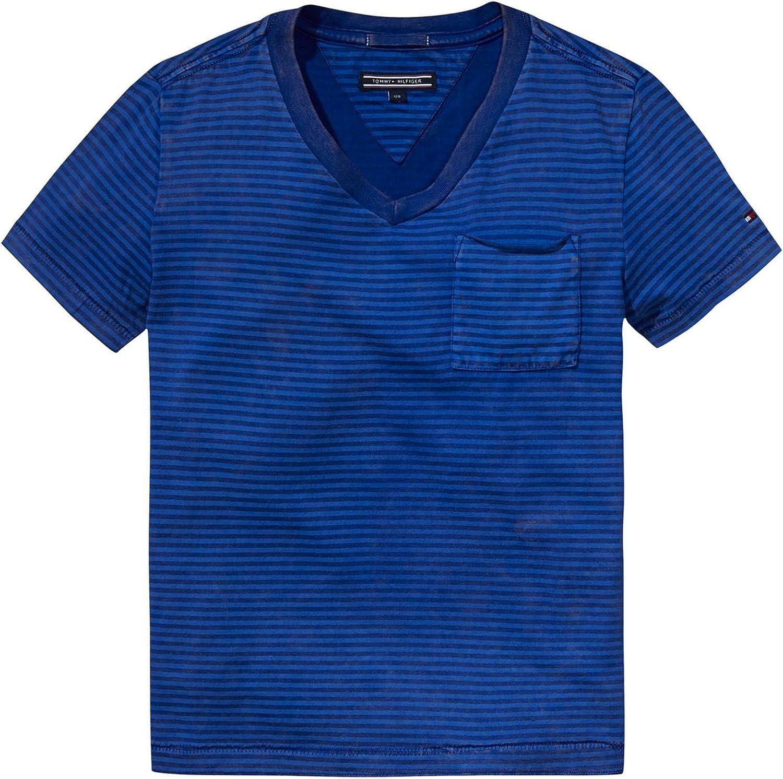 Tommy Hilfiger - Camiseta de Manga Corta - para niño: Amazon ...