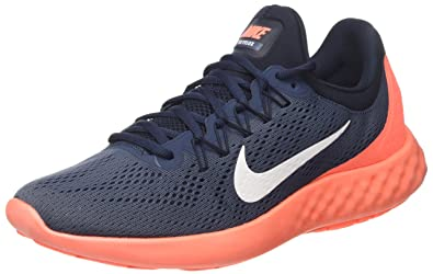 136be4cc41ba1 Nike Men s Lunar Skyelux Running Shoe Squadron Blue White Dark Obsidian Size  7.5 M