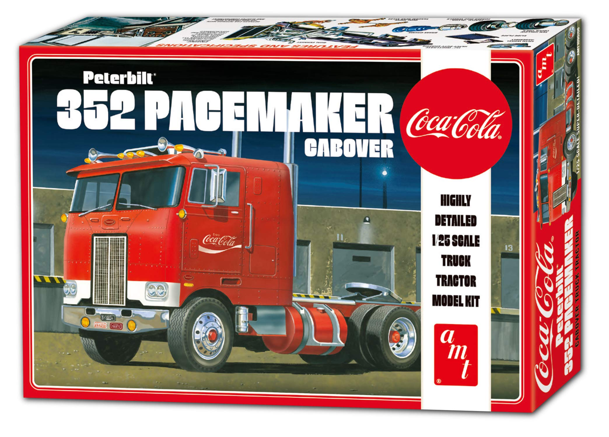 AMT AMT1090 1:25 Peterbilt 352 Pacemaker Cabover-AMT1090 by AMT