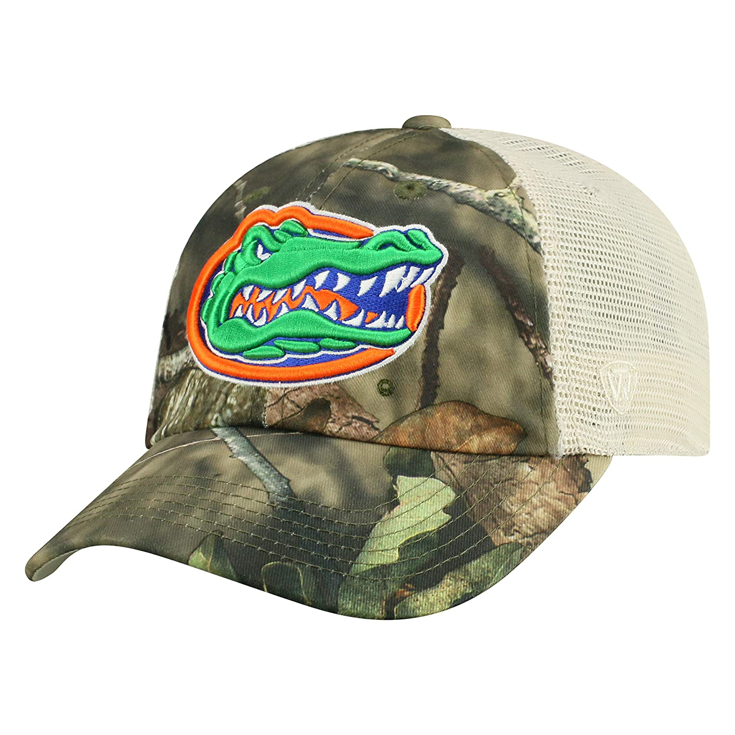 17437ff10af Amazon.com   Top of the World Florida Gators Official NCAA Adjustable  Remote Mossy Oak and Mesh Hat Cap 368900   Sports   Outdoors