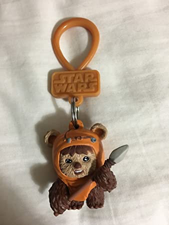 Amazon.com: Star Wars – Ewok Llavero Carácter Bolsa Clip ...