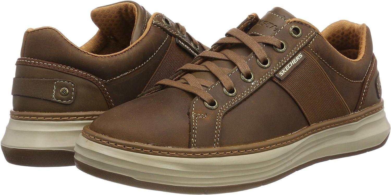 Skechers Herren Moreno Winsor Sneaker, Braun (Dark Brown CDB