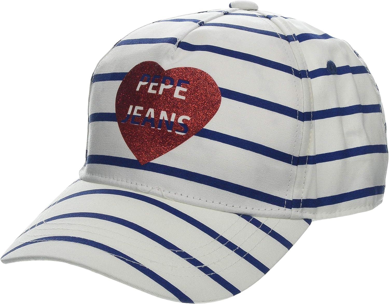 Pepe Jeans Stripes Jr Cap Gorra para Niñas: Amazon.es: Ropa y ...