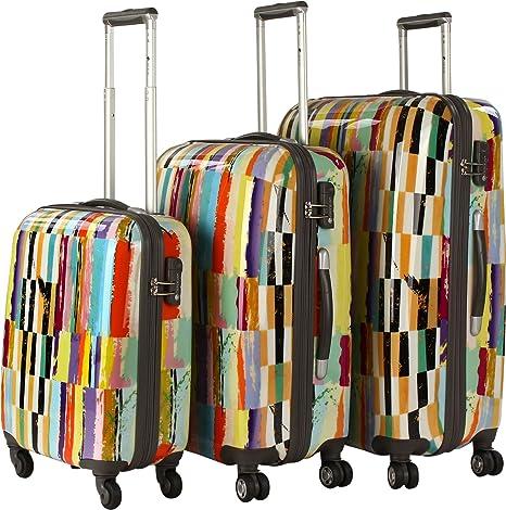 CheckIn Aruba Maleta 4 ruedas (set de 3) colorido colorida