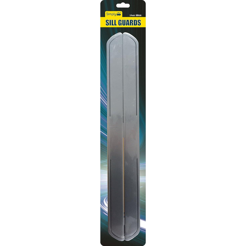 Simply SIL02 soglie, con Protezione, 60 cm, Confezione da 2