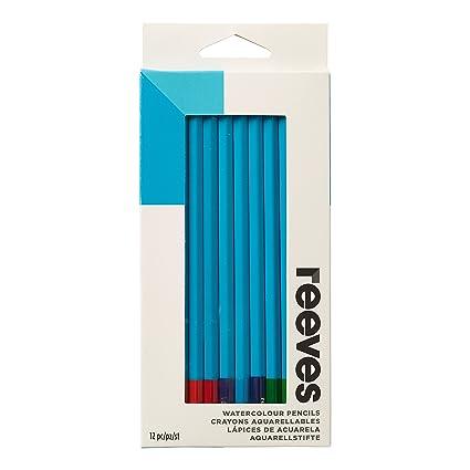 Reeves 12 Lápices Acuarela /& Reeves 12 lápices de dibujo-Nuevo En Su Caja