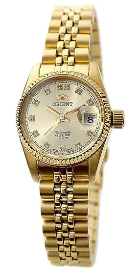 Reloj Orient Para Dama Dorado Joyas De Plata