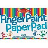 """Melissa & Doug Finger Paint Paper Pad (12""""x18"""")"""