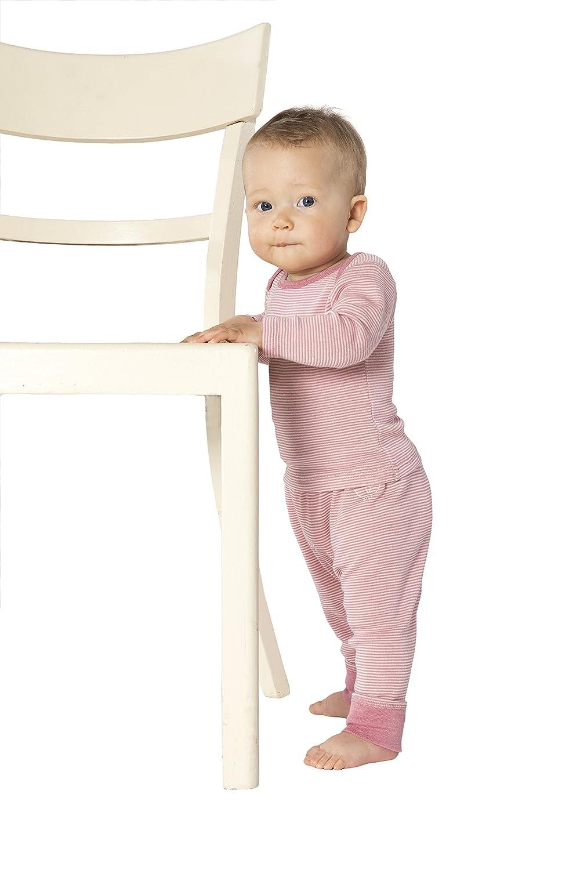 Organic Wool /& Silk Long-Sleeved Undershirt for Newborns